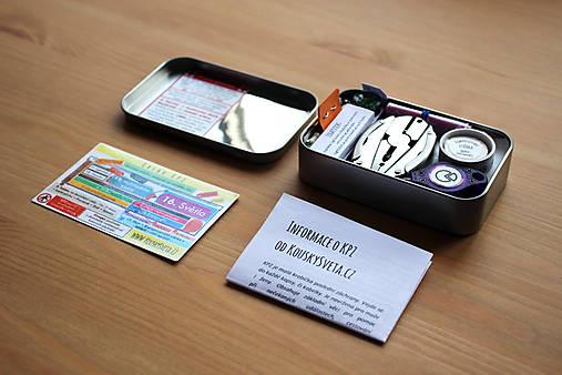S KPZ je dodána i infokarta s návodem na složení a letáček.